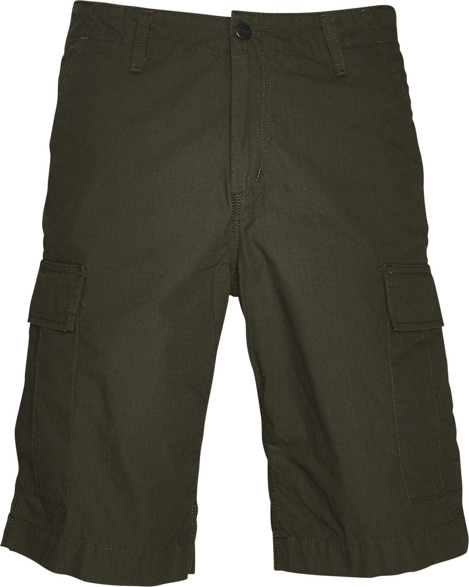 Regular Cargo Shorts - Shorts - Regular - Grøn